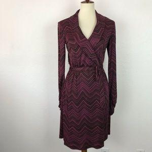 Trina Turk Los Angeles Print Wrap Dress D768